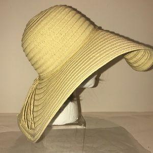 Ladies Paper Floppy Sun Hat